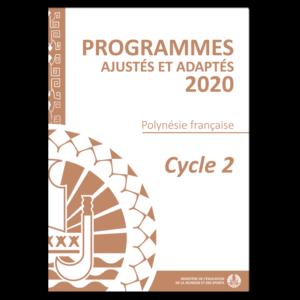 Programmes Cycle 2 ajustés à la Polynésie française