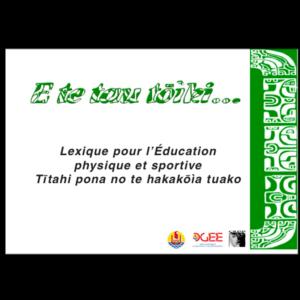 Lexique - EPS en marquisien